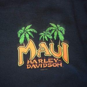 Maui Harley Davidson tee shirt